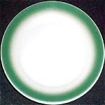 Wallace Green Rim Dessert Plate