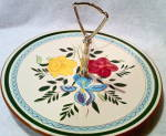 Art Deco Stangl Pottery Tid Bit Tray With Handle