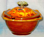 California Originals Brown / Orange Dip Bowl