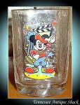 Mcdonald's Disney Studios Mickey Mouse Glass