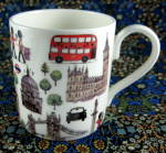 Mug London England Icons Guardsman Corgi Tower Bridge Whittard