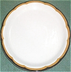 Buffalo Black Tan Border Dinner Plate