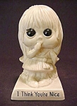 R & W Berries Little Girl Figurine 1970