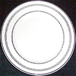 Buffalo Gray Band Bread Plate
