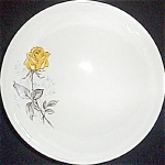 Canonsburg Citation Yellow Rose Serving Bowl