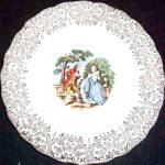 Canonsburg Empress Chantilly Bread Plate