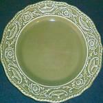 Canonsburg Regency Green Dinner Plate