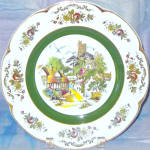 Wood And Sons Ascot Village Service Plate