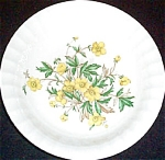 Cronin Yellow Floral Soup Bowl
