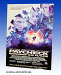Paycheck 2004 Movie Poster Ben Affleck