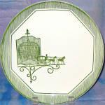 Scio Olde Orleans Dinner Plate