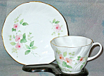 Royal Minster Pink Floral Cup And Saucer