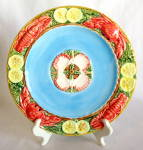 Zrike Embossed Lobster And Lemon Dinner Plate