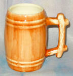 Brown Barrel Beer Mug