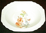 Ws George Rust Floral Serving Bowl
