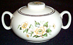 Ws George White Floral Sugar And Creamer