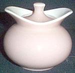 Harker Parchment Beige Sugar Bowl