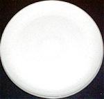 Harker Stoneware Pepper White Dinner Plate