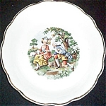 Harker Courting Couple Plate