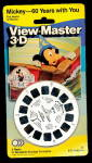 Mickey Mouse 3d View-master 3 Reel Set