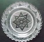 Pairpoint Glass Cup Plate - Clear