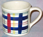 Hartstone Multi Plaid Mug