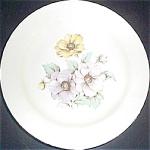 Homer Laughlin Pastel Poppies Dinner Plate