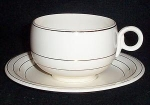 Homer Laughlin Chat - E - Lane Cup And Saucer