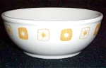 Homer Laughlin Yellow Starburst Cereal Bowl