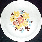 Homer Laughlin Granada Floral Dinner Plate