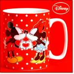 Kissing Mickey And Minnie Mug - New