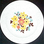 Homer Laughlin Granada Floral Bread Plate