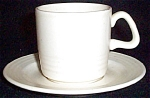Homer Laughlin Rock Garden Cup And Saucer