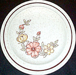Homer Laughlin Yellow Orange Floral Salad Plate