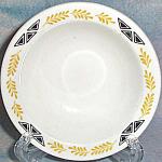 Homer Laughlin Fruit Bowl With Gold Laurel