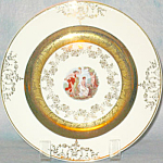 Homer Laughlin Classical Figures Salad Plate