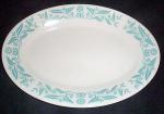 Homer Laughlin Marigold Blue Platter