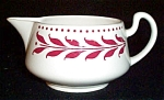 Homer Laughlin Hemlock Red Creamer