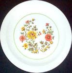 Homer Laughlin Garden Song Dinner Plate