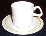 Homer Laughlin Harvest Cup And Saucer