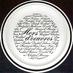 Homer Laughlin Hors D'oeuvres Plate