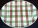 Homer Laughlin Highland Plaid Platter
