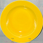 Homer Laughlin Harlequin Yellow Soup Bowl
