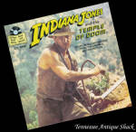 Indiana Jones Temple Of Doom Read Along Book & Record