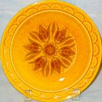 Homer Laughlin Golden Harvest Salad Plate