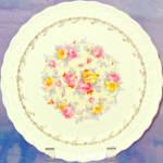 Taylor Smith Taylor Deco Wreath Luncheon Plate
