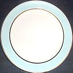 Homer Laughlin Blue Band Dessert Plate