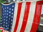 Us American Flag 46 Stars Adopted Oklahoma Circa 1907- 1912 Large