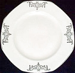 Homer Laughlin Bows / Swags Luncheon Plate
