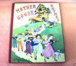Rare 1933 1st Edition Mother Goose Nursery Rhymes-lensk